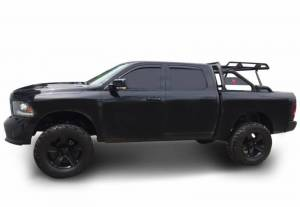 Black Horse Off Road - Black Horse Black Steel All Models Warrior Roll Bar WRB-001BK