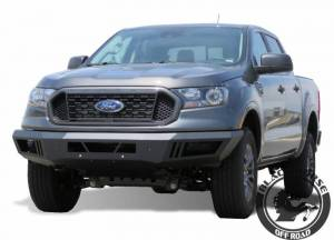 Black Horse Off Road - Black Horse Black Steel Armour Front Bumper AFB-FORA