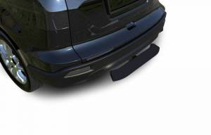 "Black Horse Off Road - Black Horse Blade Rear Bumper Guard Step | Black | 2"" Inlet - 28"" Long 