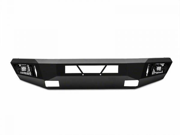 Black Horse Off Road - Black Horse Black Steel Armour Front Bumper AFB-SI16
