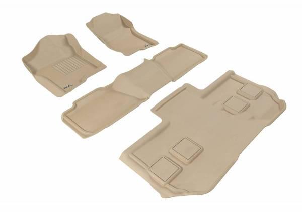3D MAXpider - U Ace 3D MAXpider CHEVROLET SUBURBAN 2011-2014 KAGU TAN R1 R2 R3 BUCKET SEATS L1CH05401502
