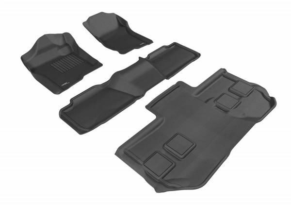 3D MAXpider - U Ace 3D MAXpider CHEVROLET SUBURBAN 2011-2014 KAGU BLACK R1 R2 R3 BUCKET SEATS L1CH05401509
