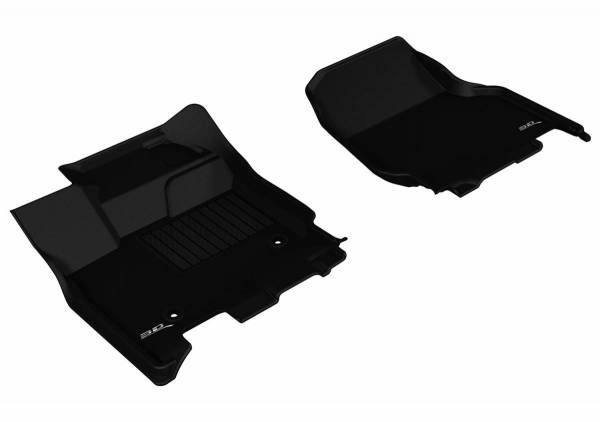 3D MAXpider - U Ace 3D MAXpider FORD F-150 2015-2019 SUPERCREW KAGU BLACK R1 (2 EYELETS, NOT FIT 4X4 M/T FLOOR SHIFTERS) L1FR08311509