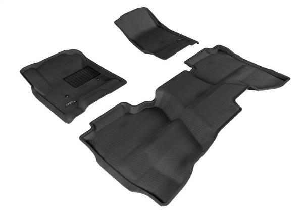 3D MAXpider - U Ace 3D MAXpider GMC SIERRA 1500/ 2500HD/ 3500HD DOUBLE CAB 2015-2018 KAGU GRAY R1 R2 L1GM01101501