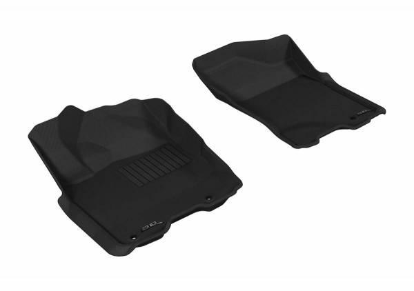 3D MAXpider - U Ace 3D MAXpider NISSAN TITAN 2009-2015 KING CAB/ CREW CAB KAGU GRAY R1 L1NS06311501