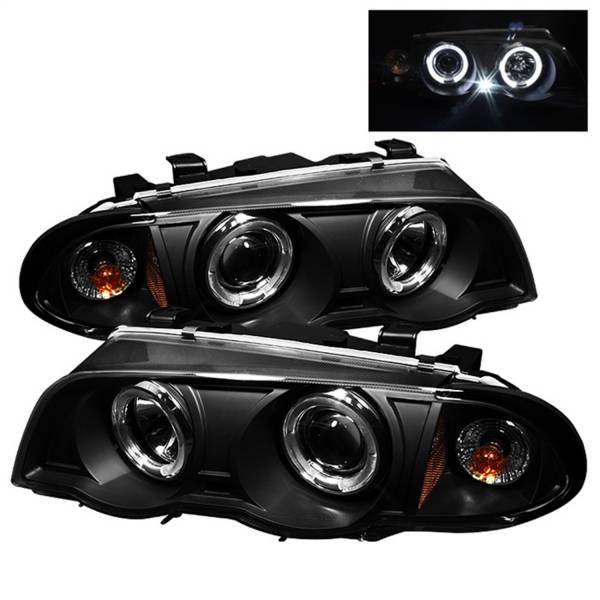 Spyder Auto - Halo Amber Projector Headlights 5008947