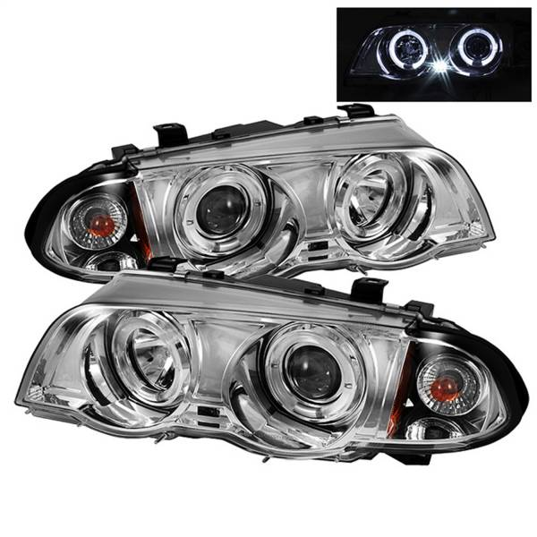 Spyder Auto - Halo Amber Projector Headlights 5008954