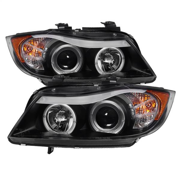Spyder Auto - Halo Amber Projector Headlights 5009005
