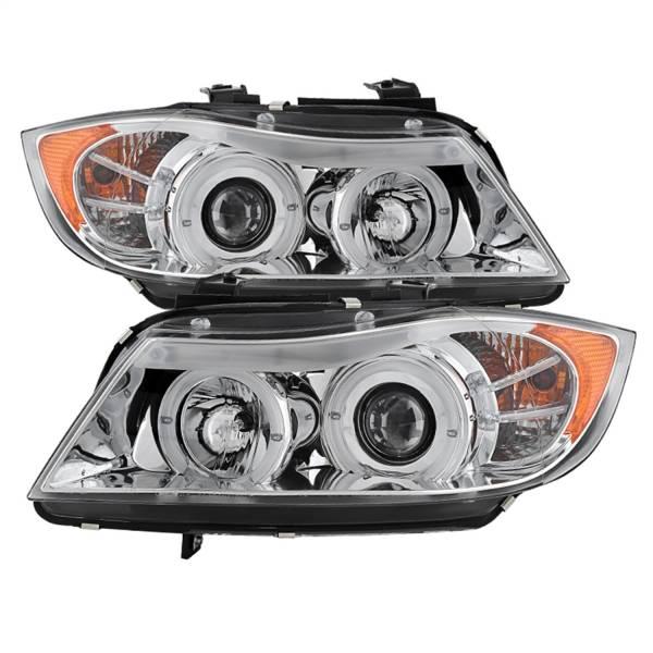 Spyder Auto - Halo Amber Projector Headlights 5009012