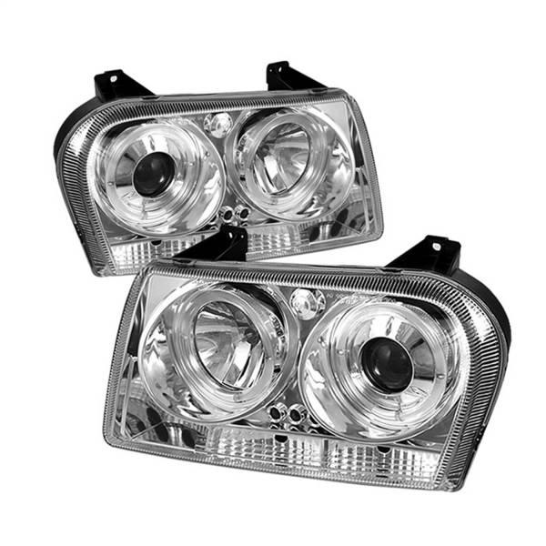 Spyder Auto - Halo LED Projector Headlights 5009197