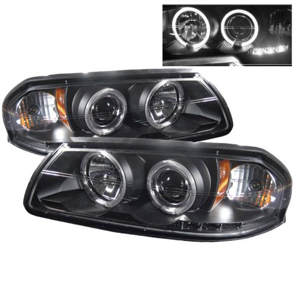 Spyder Auto - Halo LED Projector Headlights 5009401