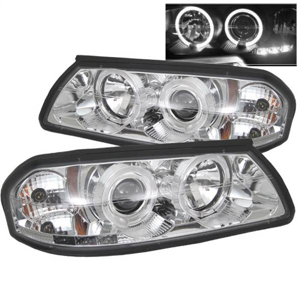 Spyder Auto - Halo LED Projector Headlights 5009418