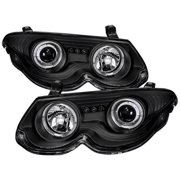 Spyder Auto - Halo LED Projector Headlights 5009432