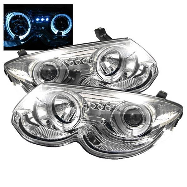 Spyder Auto - Halo LED Projector Headlights 5009449