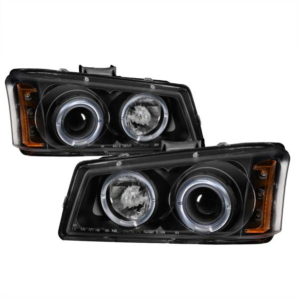 Spyder Auto - Halo LED Projector Headlights 5009456