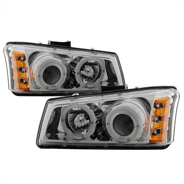 Spyder Auto - Halo LED Projector Headlights 5009463