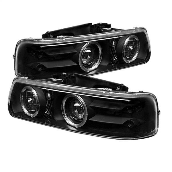 Spyder Auto - Halo LED Projector Headlights 5009593