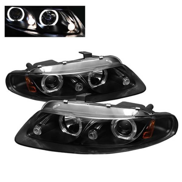 Spyder Auto - Halo LED Projector Headlights 5009678