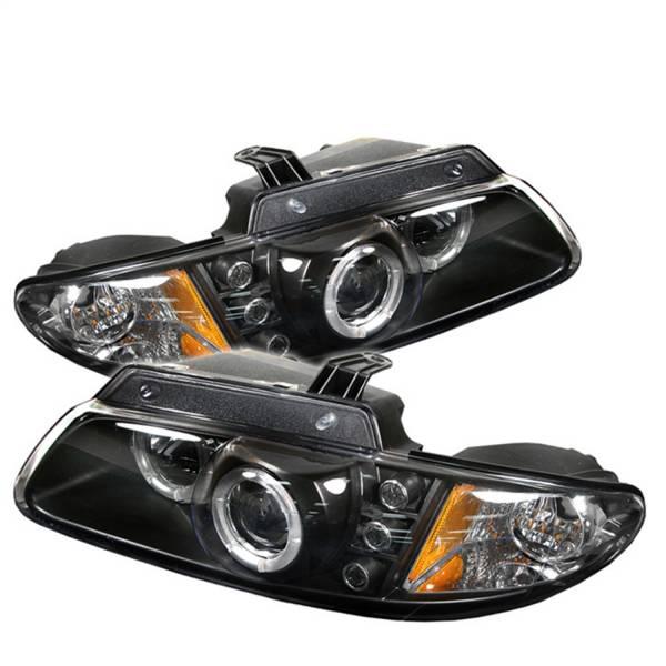 Spyder Auto - Halo LED Projector Headlights 5009692