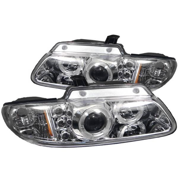 Spyder Auto - Halo LED Projector Headlights 5009708