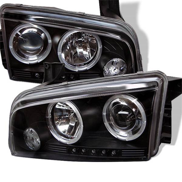 Spyder Auto - Halo LED Projector Headlights 5009739