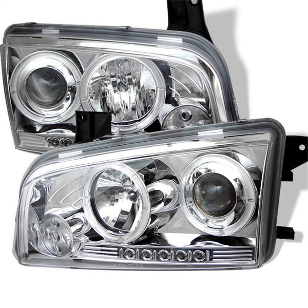 Spyder Auto - Halo LED Projector Headlights 5009746