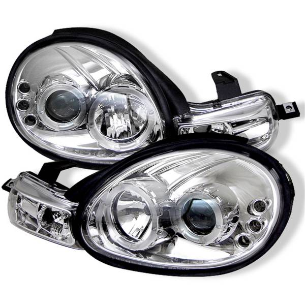 Spyder Auto - Halo LED Projector Headlights 5009913