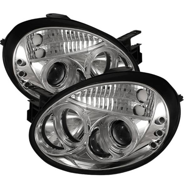 Spyder Auto - Halo LED Projector Headlights 5009937