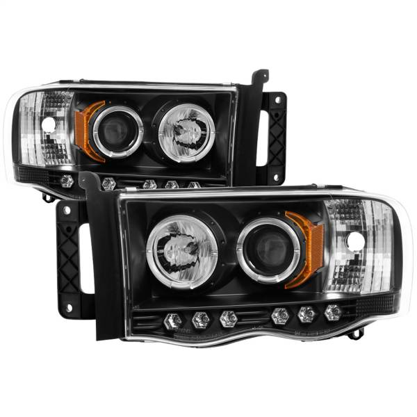 Spyder Auto - Halo LED Projector Headlights 5009975