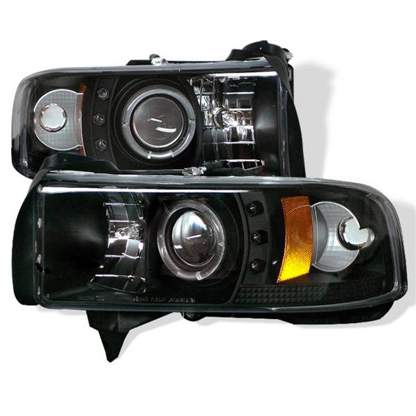 Spyder Auto - Halo LED Projector Headlights 5010087
