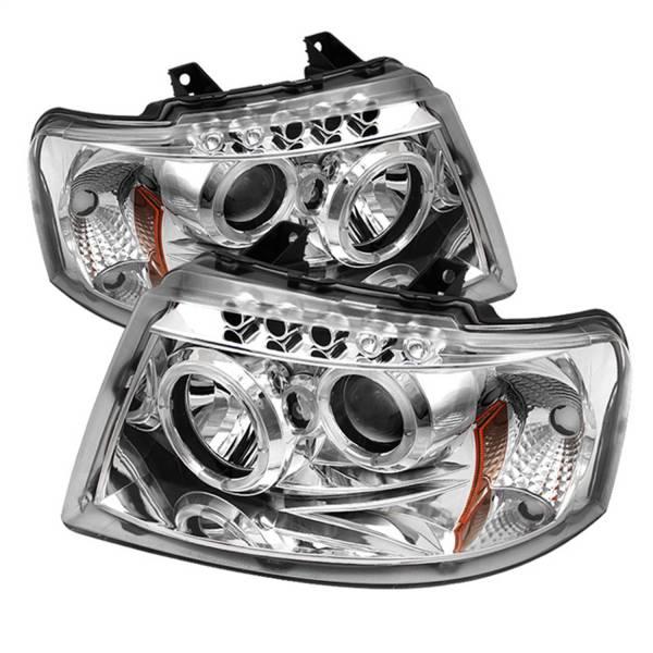 Spyder Auto - Halo LED Projector Headlights 5010124