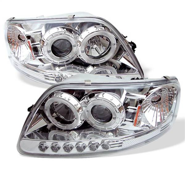 Spyder Auto - Halo LED Projector Headlights 5010278