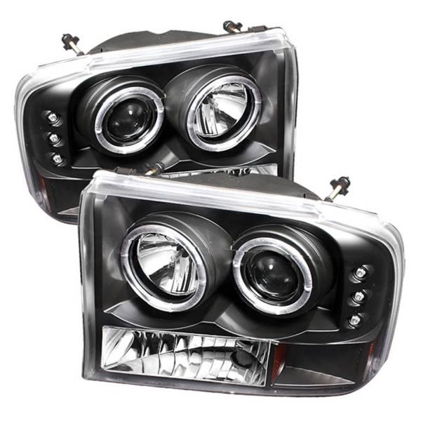 Spyder Auto - Dual Halo LED Projector Headlights 5010339