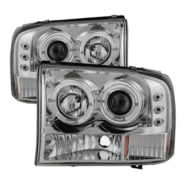 Spyder Auto - Dual Halo LED Projector Headlights 5010360