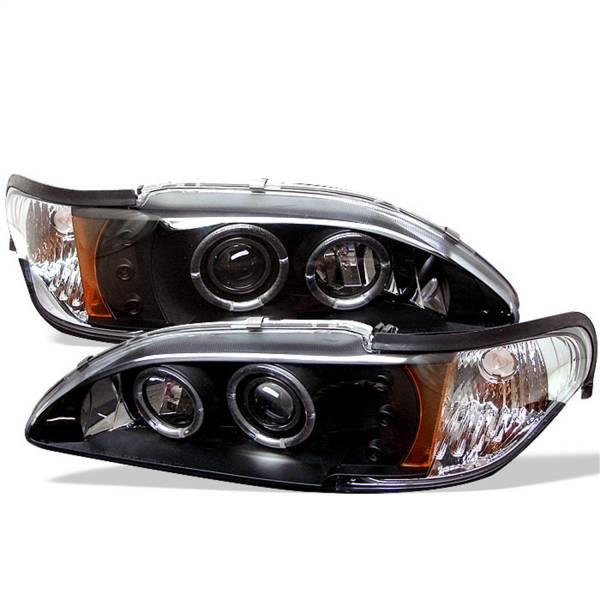 Spyder Auto - Halo LED Projector Headlights 5010391