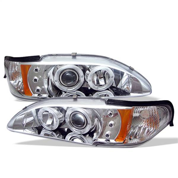 Spyder Auto - Halo LED Projector Headlights 5010407