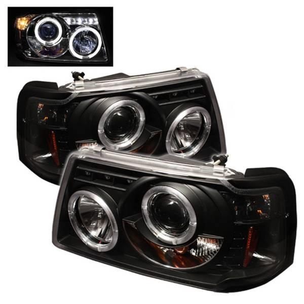 Spyder Auto - Halo LED Projector Headlights 5010490