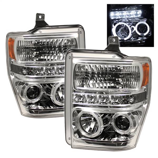 Spyder Auto - Halo LED Projector Headlights 5010582