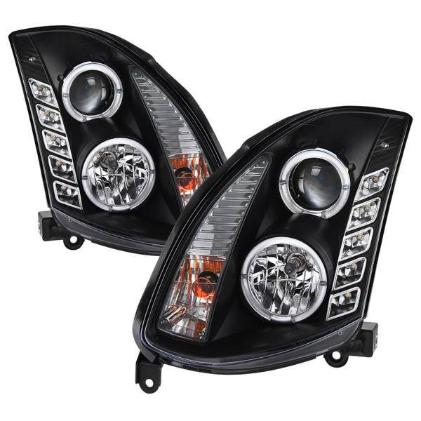 Spyder Auto - Halo DRL LED Projector Headlight 5011060