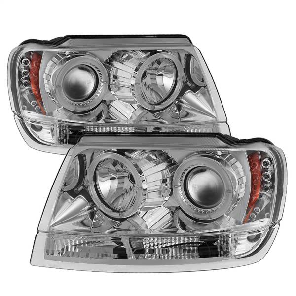 Spyder Auto - Halo LED Projector Headlights 5011152