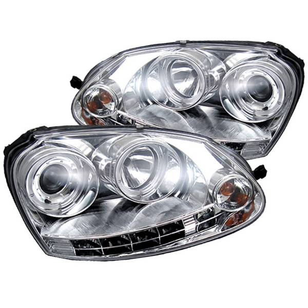 Spyder Auto - Halo LED Projector Headlights 5012104