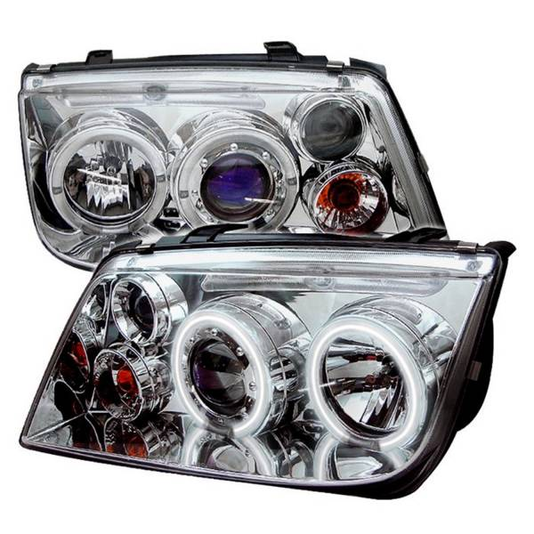 Spyder Auto - CCFL LED Projector Headlights 5012227