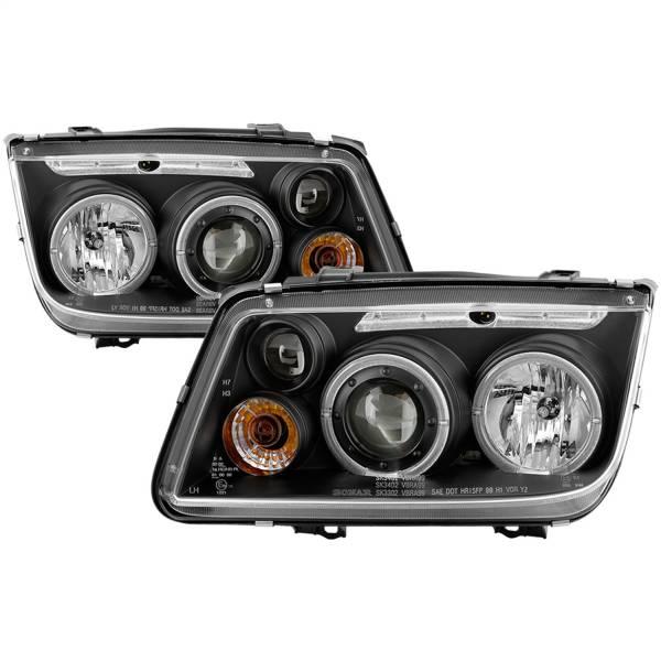 Spyder Auto - Halo LED Projector Headlights 5012258