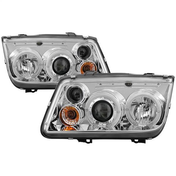Spyder Auto - Halo LED Projector Headlights 5012265