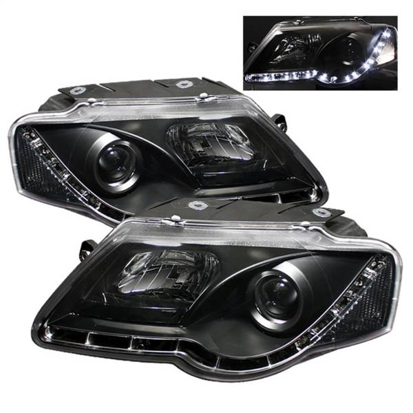 Spyder Auto - DRL LED Projector Headlights 5012326