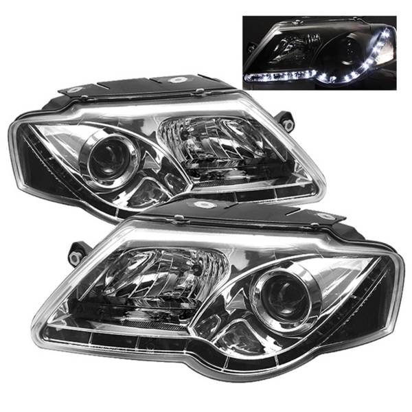 Spyder Auto - DRL LED Projector Headlights 5012333