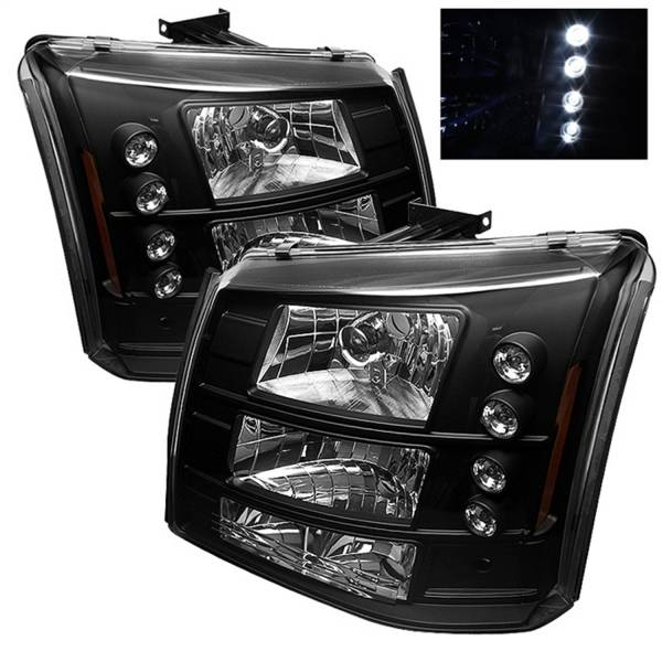 Spyder Auto - LED Crystal Headlights 5012395