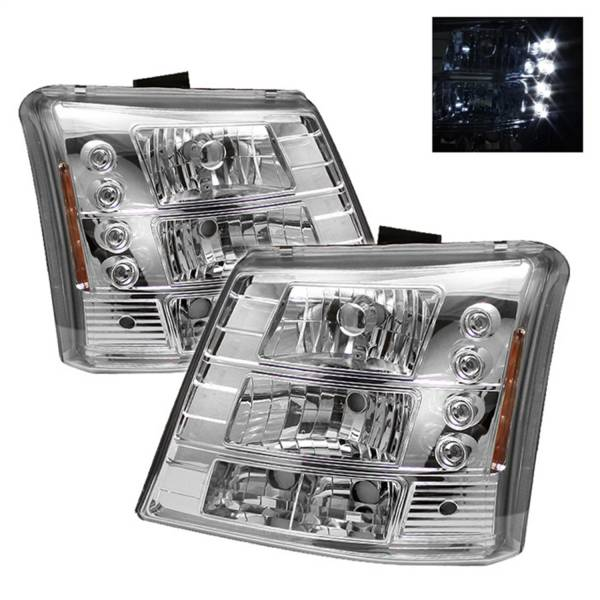 Spyder Auto - LED Crystal Headlights 5012401