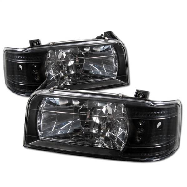 Spyder Auto - LED Crystal Headlights 5012494