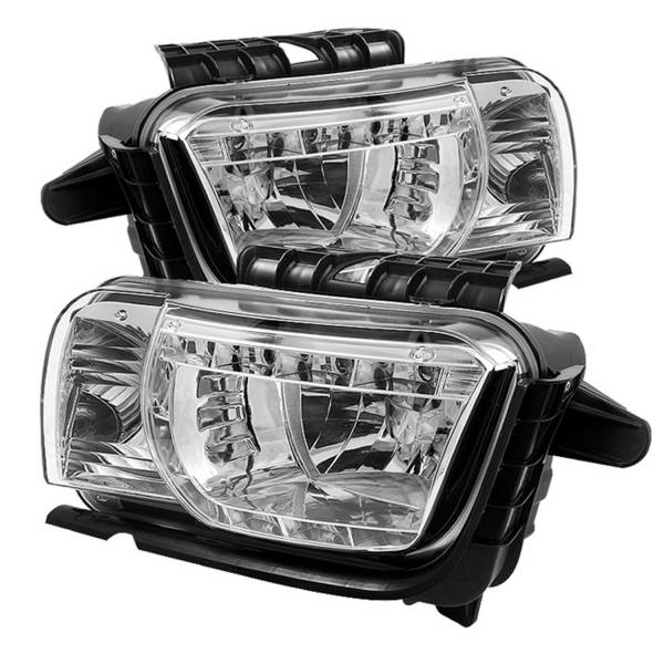 Spyder Auto - DRL LED Crystal Headlights 5029645